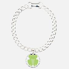 Little Brother Green Frog Bracelet