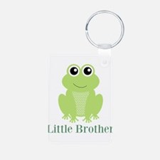 Little Brother Green Frog Keychains