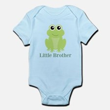 Little Brother Green Frog Body Suit