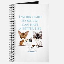 I work hard Journal