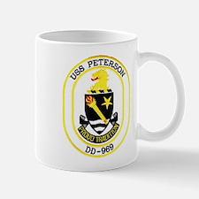 USS PETERSON Mug