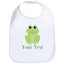 Personalizable Green Frog Bib