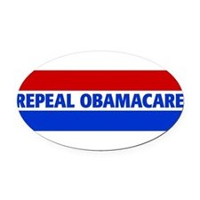Unique Obamacare Oval Car Magnet