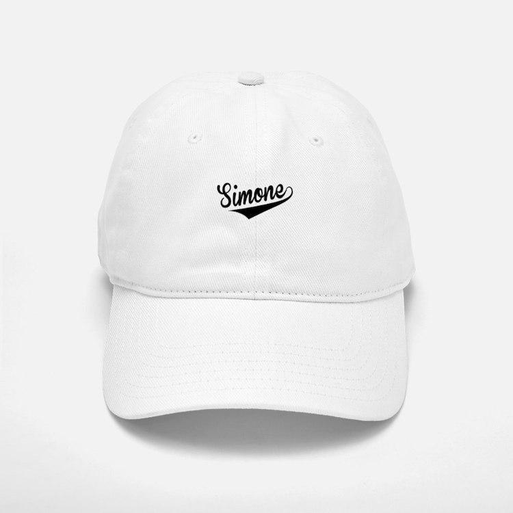 Simone, Retro, Baseball Baseball Baseball Cap