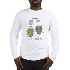 Cute Trilobite Long Sleeve T-Shirt