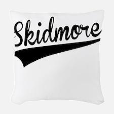 Skidmore, Retro, Woven Throw Pillow