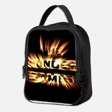Burning Hunger Games Neoprene Lunch Bag