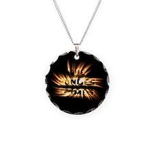 Burning Hunger Games Necklace