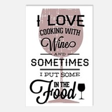 I love Wines! Postcards (Package of 8)