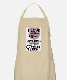 I love Wines! Apron