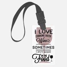 I love Wines! Luggage Tag