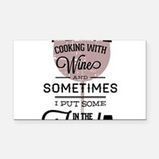 I love Wines! Rectangle Car Magnet