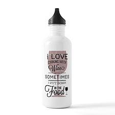 I love Wines! Sports Water Bottle