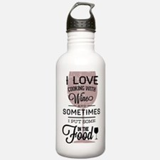 I love Wines! Water Bottle