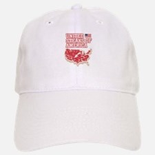 United Steaks of America Baseball Baseball Cap