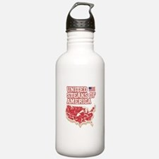 United Steaks of Ameri Water Bottle