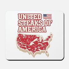 United Steaks of America Mousepad