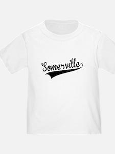 Somerville, Retro, T-Shirt