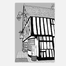 Hand Drawn Braintree Swan Postcards (package Of 8)