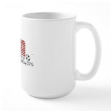 USA Kicking Balls  Mug
