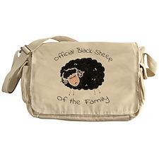 Official Black Messenger Bag