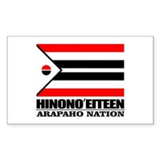 Arapaho Flag Decal