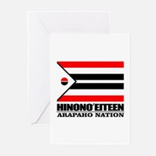 Arapaho Flag Greeting Cards