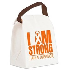 Multiple Sclerosis Strong Canvas Lunch Bag