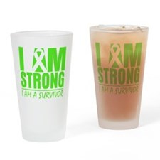 Lyme Disease Strong Drinking Glass