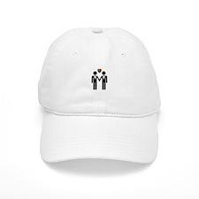 Mr. & Mr. Gay Pride Grooms Baseball Cap