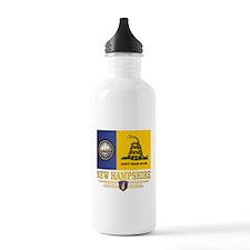 New Hampshire Gadsden Flag Water Bottle