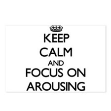 Keep Calm And Focus On Arousing Postcards (Package