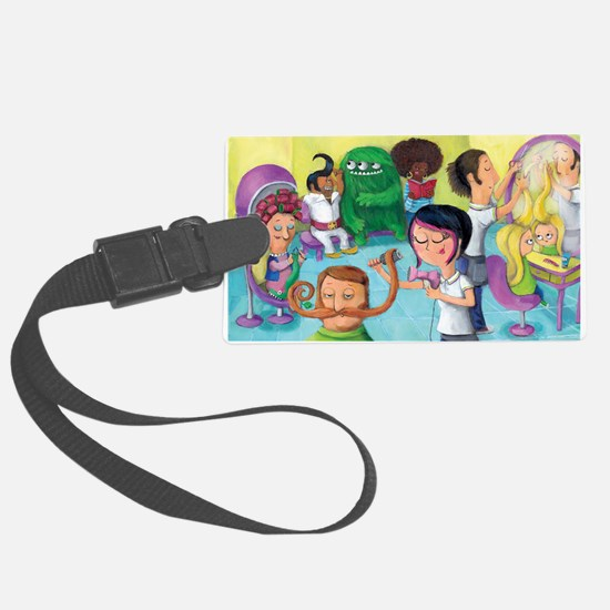 Fantastic Beauty Hair Saloon Luggage Tag