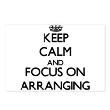 Keep Calm And Focus On Arranging Postcards (Packag