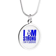 Erb Palsy Strong Silver Round Necklace