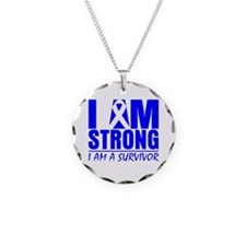 Erb Palsy Strong Necklace Circle Charm