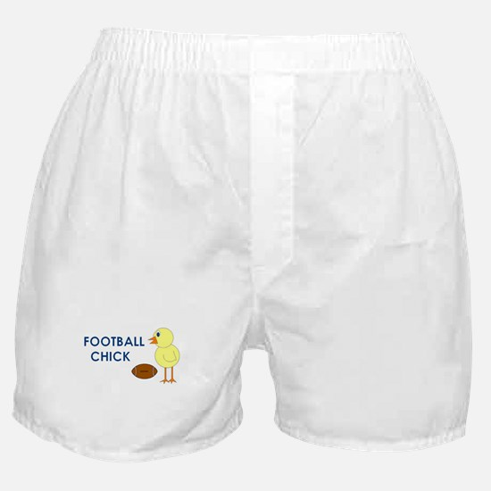 SPORTS CHICK HUMOR Boxer Shorts