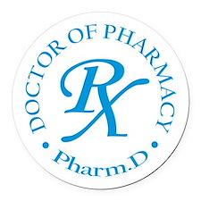 Pharmacist Round Car Magnet
