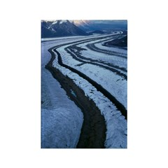 Glacier Near McCarthy Rectangle Magnet (100 pack)