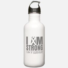 Brain Tumor Strong Water Bottle