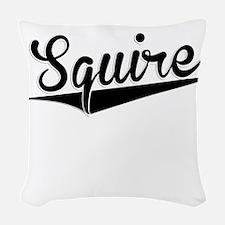 Squire, Retro, Woven Throw Pillow
