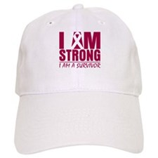 Brain Aneurysm Strong Baseball Cap