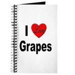 I Love Grapes Journal