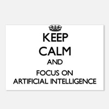 Keep Calm And Focus On Artificial Intelligence Pos