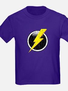 Lightning Bolt Distressed T