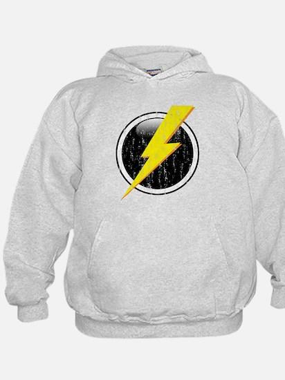 Lightning Bolt Distressed Hoody