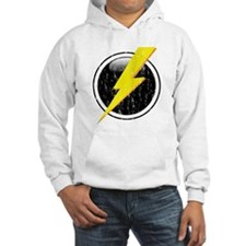Lightning Bolt Distressed Hoodie