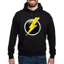 Lightning Bolt Distressed Hoodie