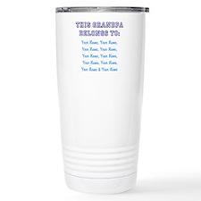 Cool Grandpa Travel Mug