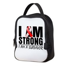 Aplastic Anemia Strong Neoprene Lunch Bag
